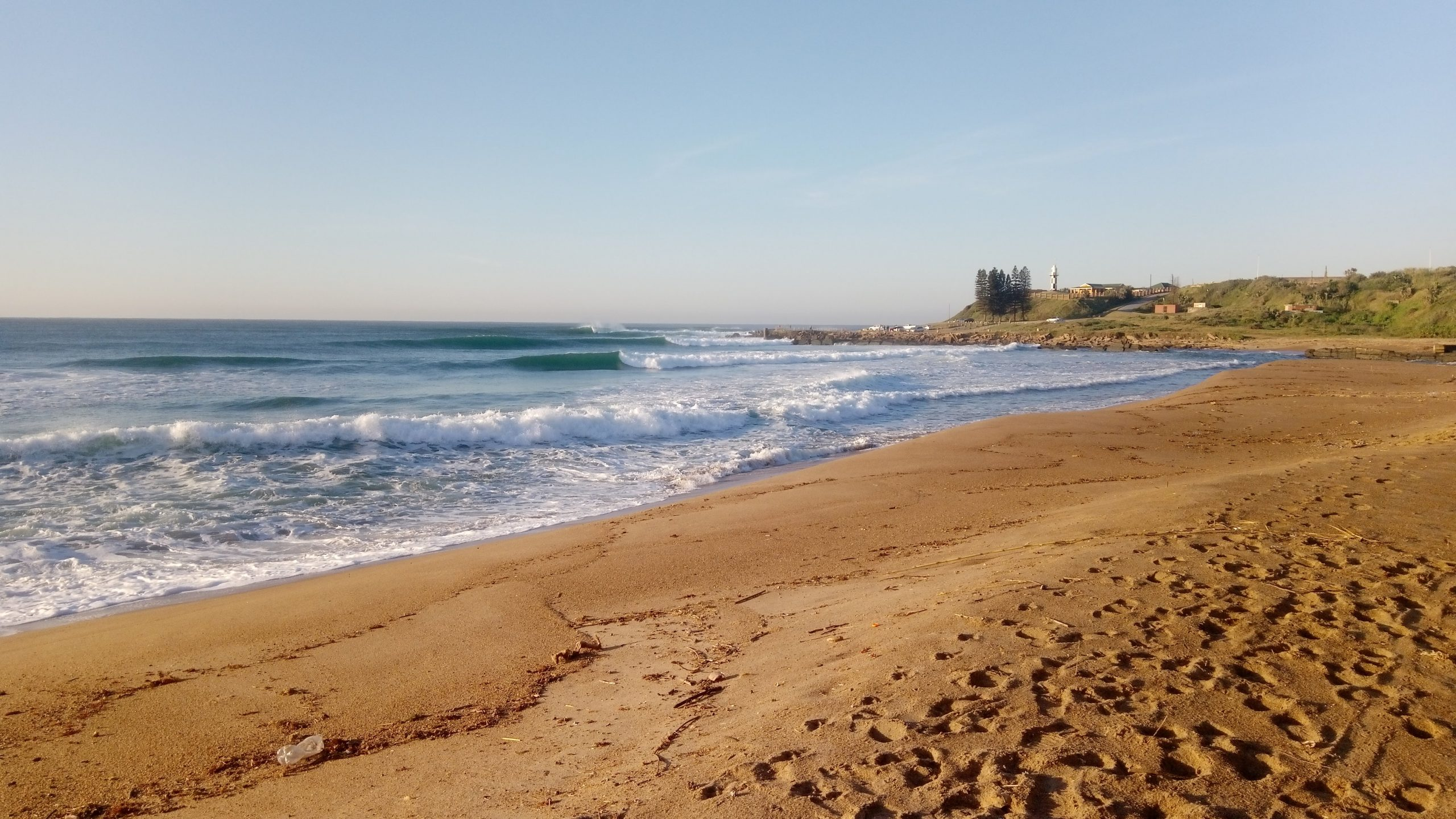 The world famous sandspit is a fantastic beach for fishing, exploring or just walking.
